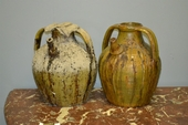 Two French Jars, Auvergne - France XIXth